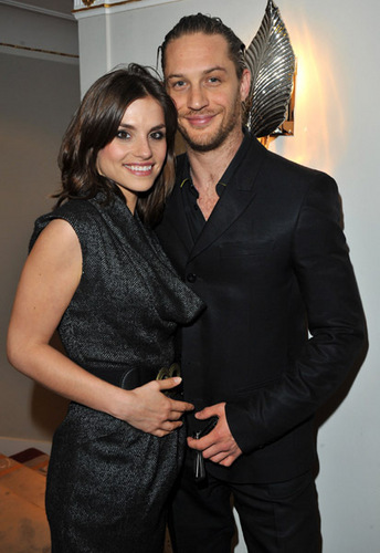 Tom Hardy wallpaper entitled Tom Hardy & Charlotte Riley attending the English National Ballet