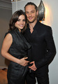 Tom Hardy & Charlotte Riley attending the English National Ballet