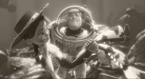 Toy Story 3- Buzz and Jessie