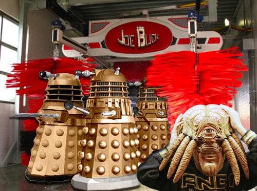 Wash My Dalek