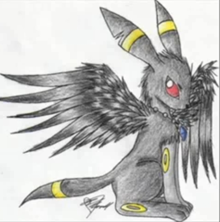 Winged Umbreon
