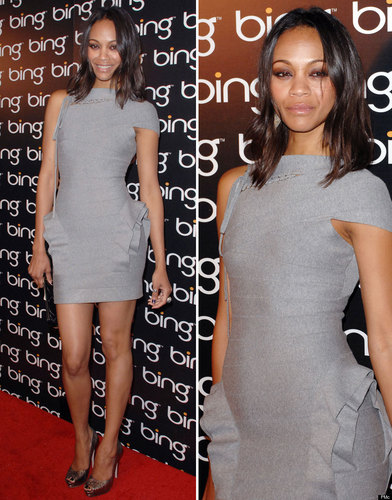 Zoe's Little Grey Dress