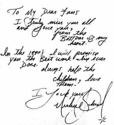 awww Michael!!!