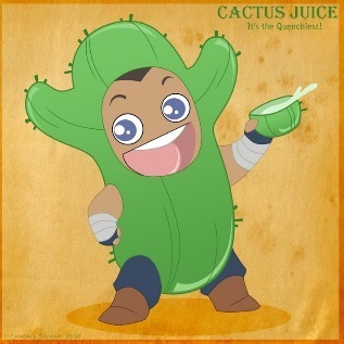 cactus رس, جوس commertial