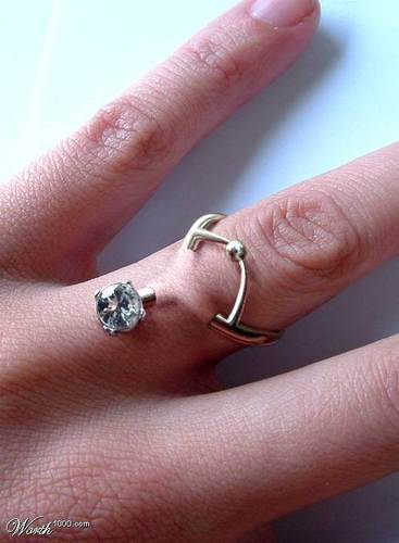 diamond ring piercing