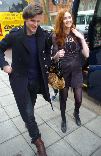 Matt Smith & Karen Gillan wallpaper called matt/karen
