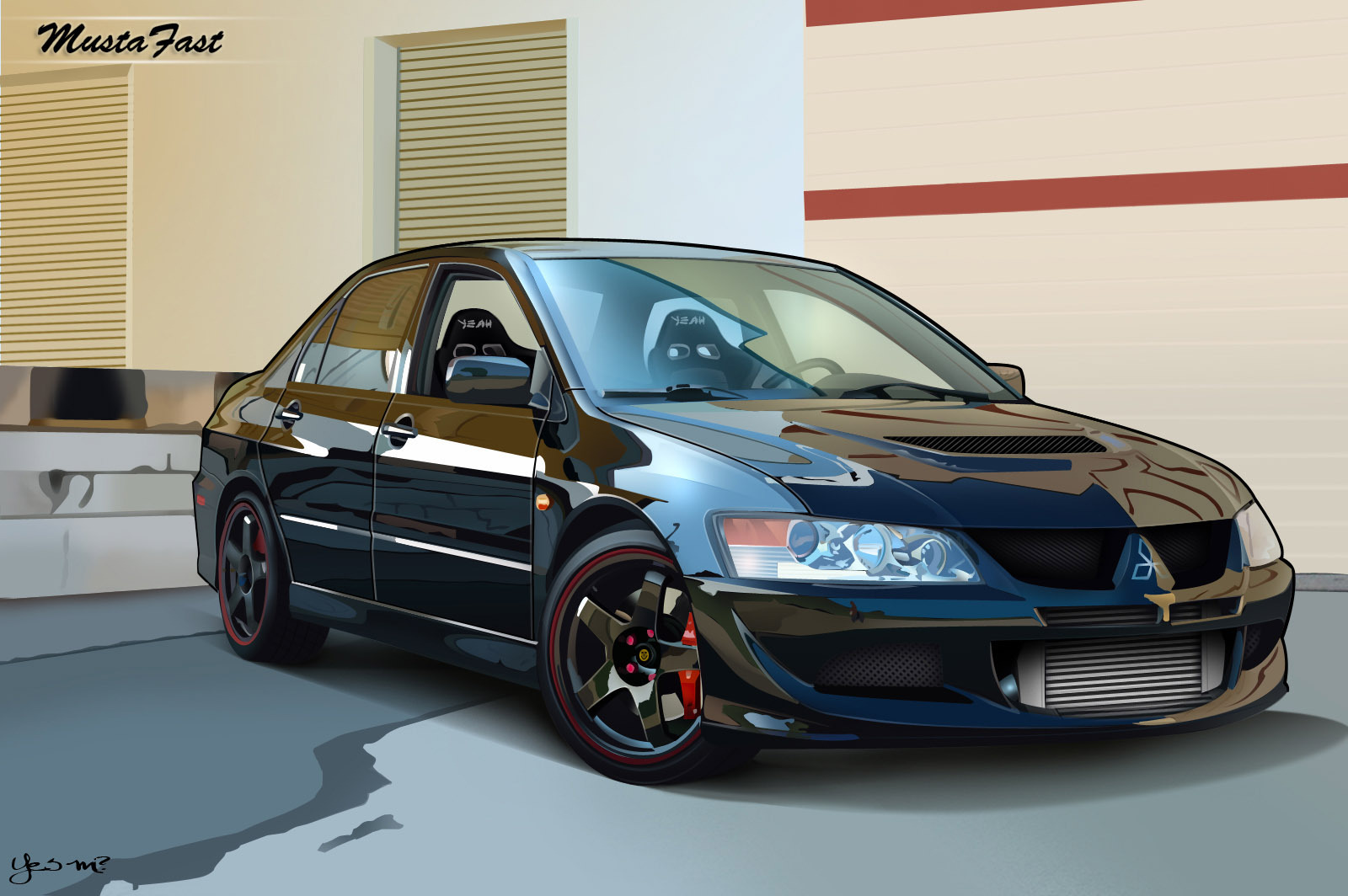 mitsubishi lancer evolution images mitsubishi evo hd wallpaper and background photos 13244352. Black Bedroom Furniture Sets. Home Design Ideas