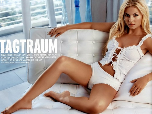 Elisha Cuthbert پیپر وال called model behavior