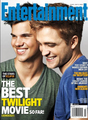 robert pattinson and taylor lautner - twilight-series photo