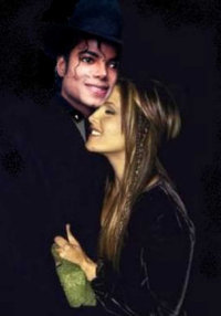 tHIS Is Lisa marie and Michael Jackson! Yeah!