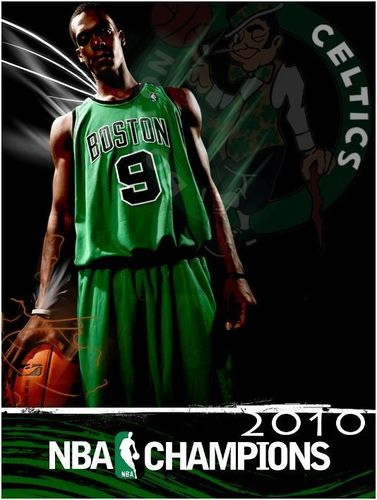 Rajon Rondo Hintergrund called 2010 champion