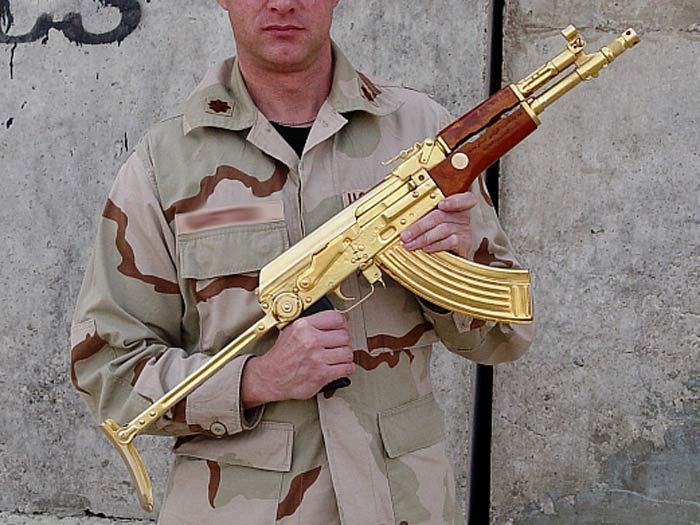 ak47 gold guns photo 13395293 fanpop