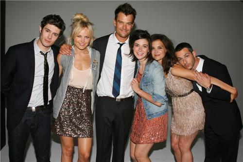 Adam Brody and cast of 'Romantics'