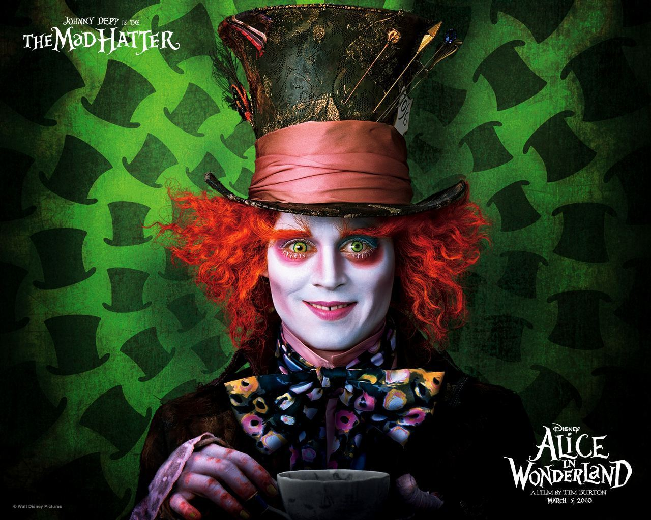 Alice In Wonderland Wonderland 2010 Wallpaper 13306034