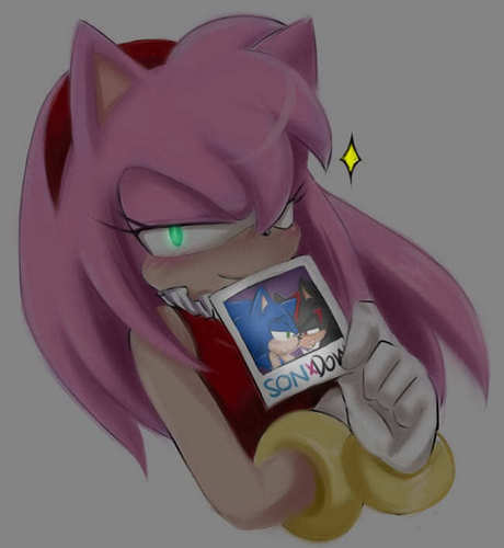 Amy likes Sonadow 8D