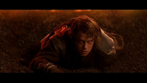 anakin skywalker wallpaper called Anakin Skywalker- SW ep III: Immolation