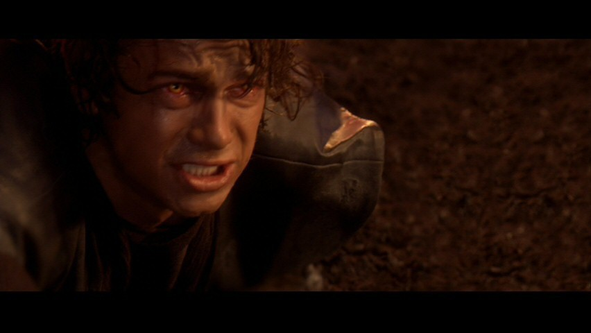 Anakin Skywalker- SW ep III: Immolation