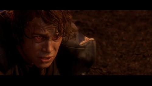 अनाकिन स्काईवाकर वॉलपेपर titled Anakin Skywalker- SW ep III: Immolation
