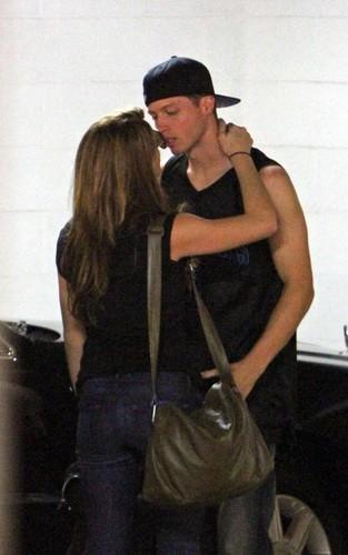 Ashley & Brock Kelly in Los Angeles (June 26)