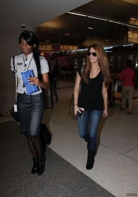 Ashley @ LAX Airport