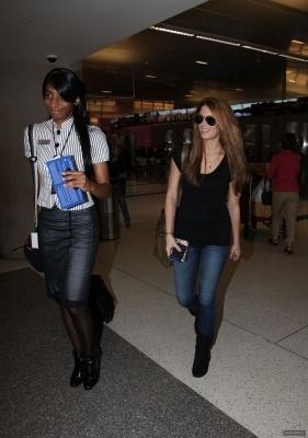 Ashley @ LAX Airport