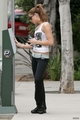 Ashley heading to the gym in LA - twilight-series photo