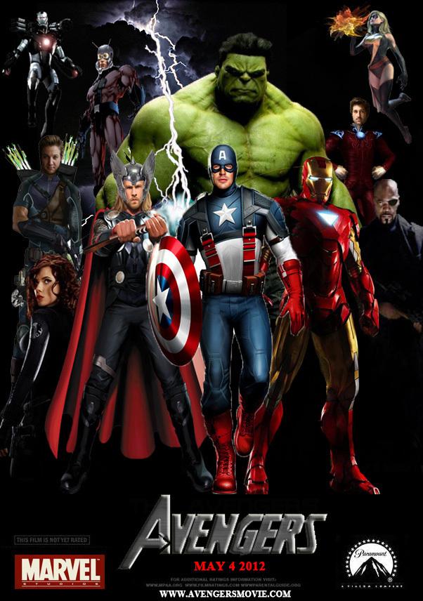 The avengers avengers 2012