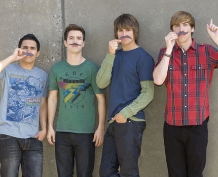 Big Time Rush - mustaches!!