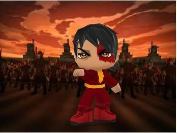 Buddy Poke Zuko charecter - zuko Fan Art