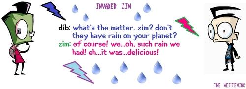 Dib achtergrond called Delicious Rain