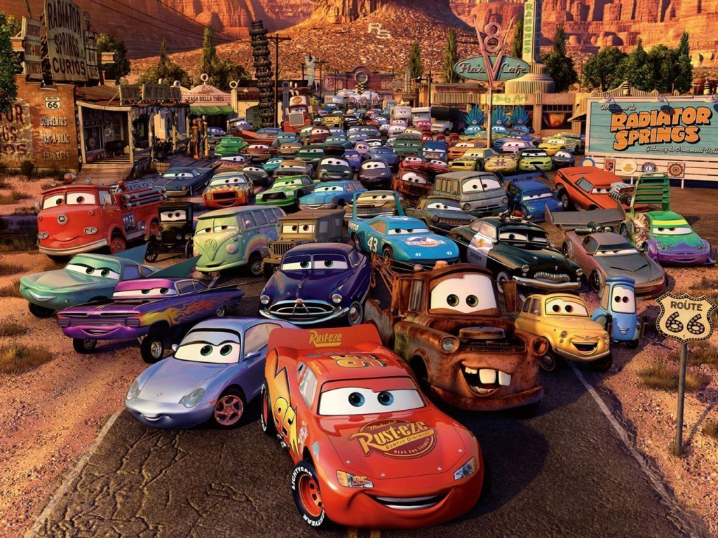 Disney cars charcters sally carrera disney cars toys quotes for Disney pixar cars mural wallpaper