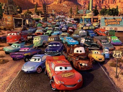 disney Cars cool fondo de pantalla