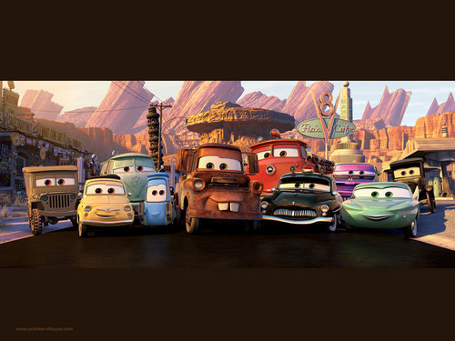 Disney Cars wallpaper 2 - disney-pixar-cars Wallpaper
