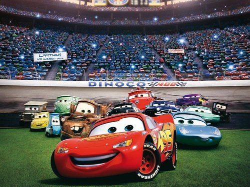 Disney Pixar Cars Wallpaper Titled