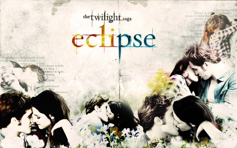 Eclipse Kiss Scene Wallpaper Twilight Wallpaper