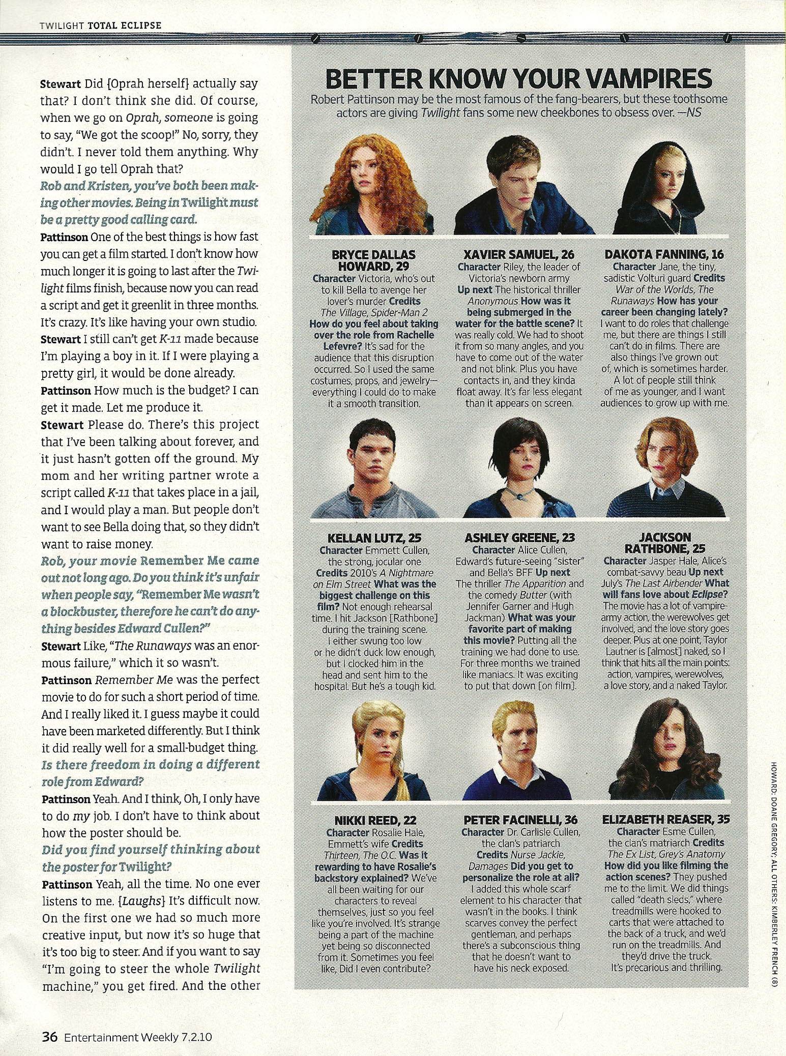 Entertainment Weekly - HQ Scans