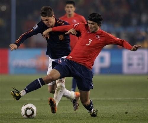 Fernando Torres - Spain (2) vs Chile (1)