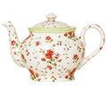 Flower Print Tea Pot