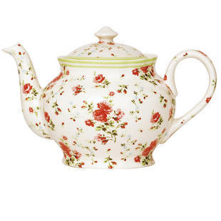 flor Print chá Pot