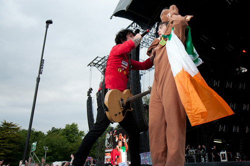 Green Day at Marlay Park (23 June 2010)