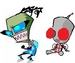 Jae and Raz - invader-zim-roleplaying icon