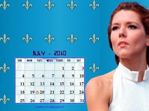 July 2010 Diana (calendar)