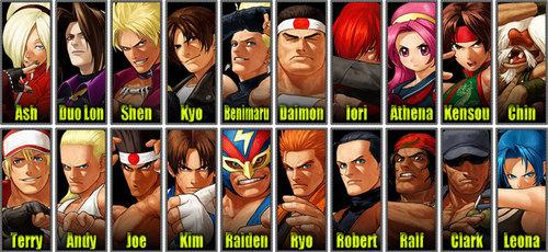 KOF 12 roster
