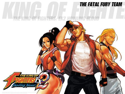 The King of Fighters wallpaper entitled KOF EX2