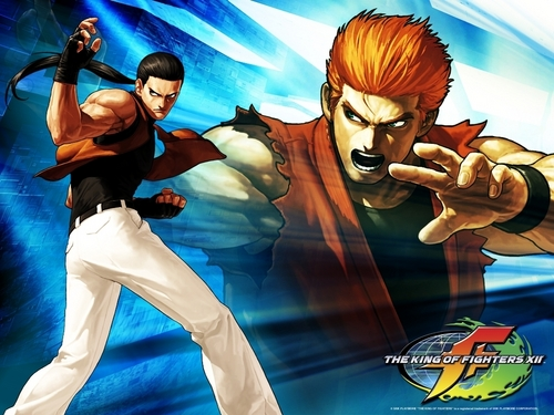 KOF XII- Robert & Ryo - the-king-of-fighters Wallpaper