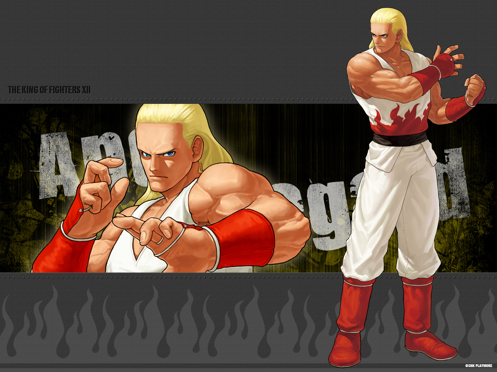 Kof Xii Andy The King Of Fighters Wallpaper 13368173 Fanpop