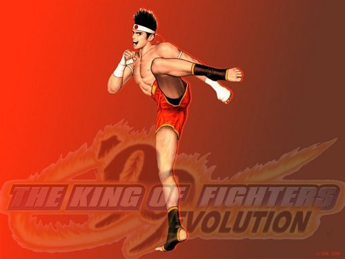 KOF evolution- joe