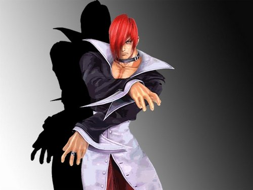 KOF - iori - the-king-of-fighters Wallpaper