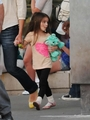 Katie and  Suri :Out and About in Toronto - suri-cruise photo