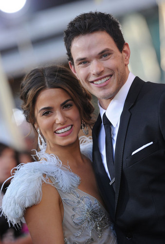 Kellan and Nikki at the 'Eclipse' Premiere on June 24th, 2010